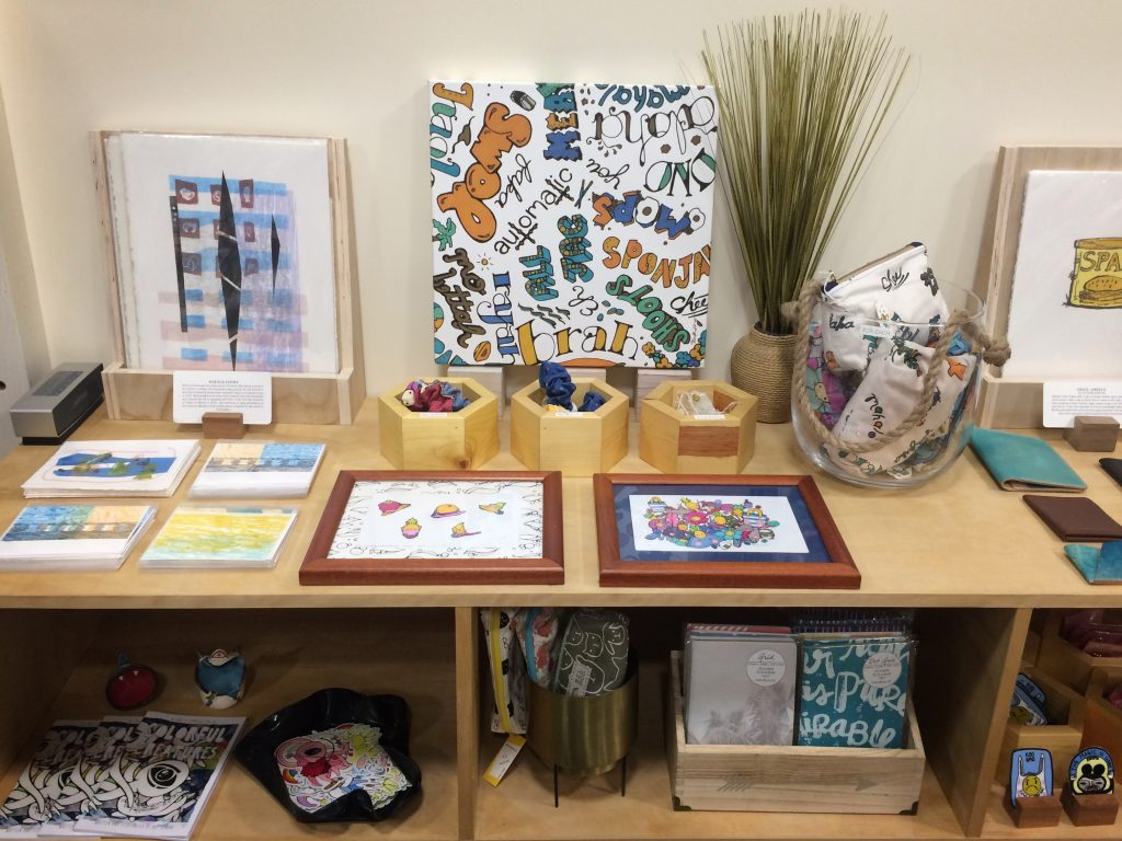 Kawaii Hawaii Collection - original artwork and handmade accessories (with the exception of the lapel pins)