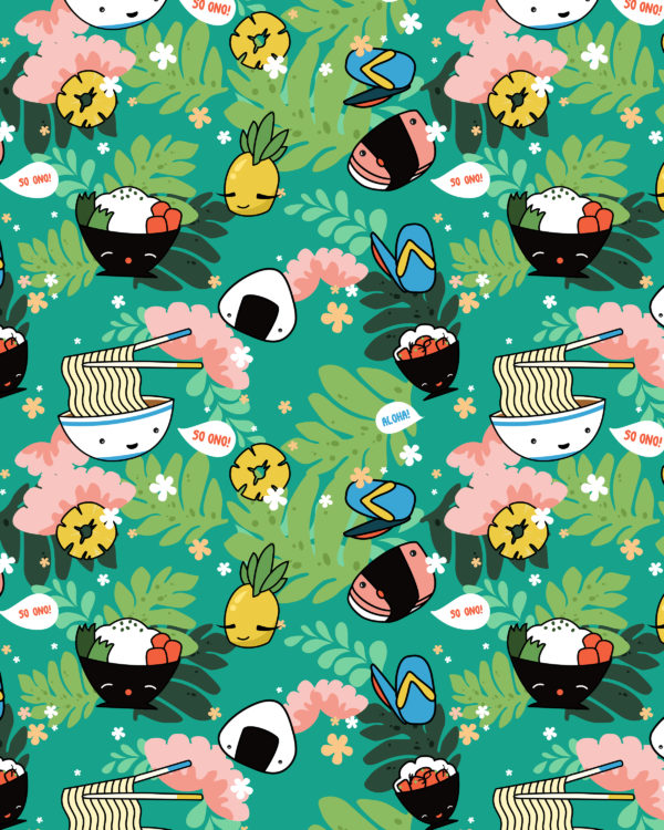 Kawaii Hawaii RHC Full Pattern